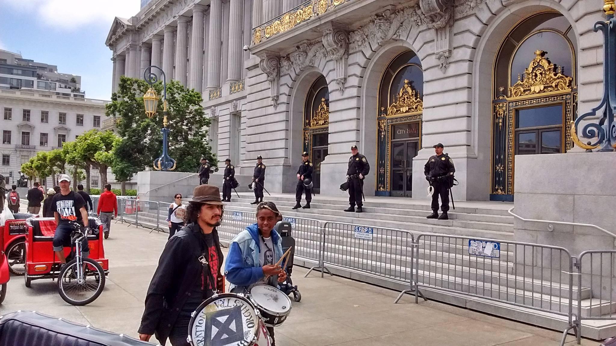 San Francisco General Strike May 09, 2016