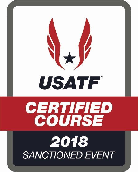 USATF Certified Logo