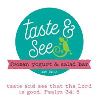 Taste & See Frozen Yogurt & Salad Bar