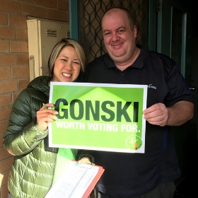 Doorknocking makes a difference