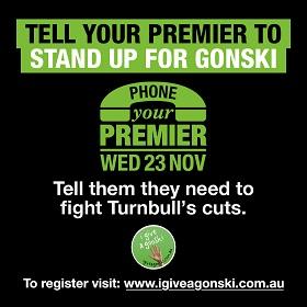 Tell your Premier Gonski matters