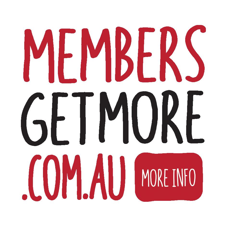Members Get More logo