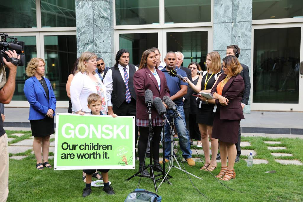 Gonski ATSI Delegation to Parliament, February 2016