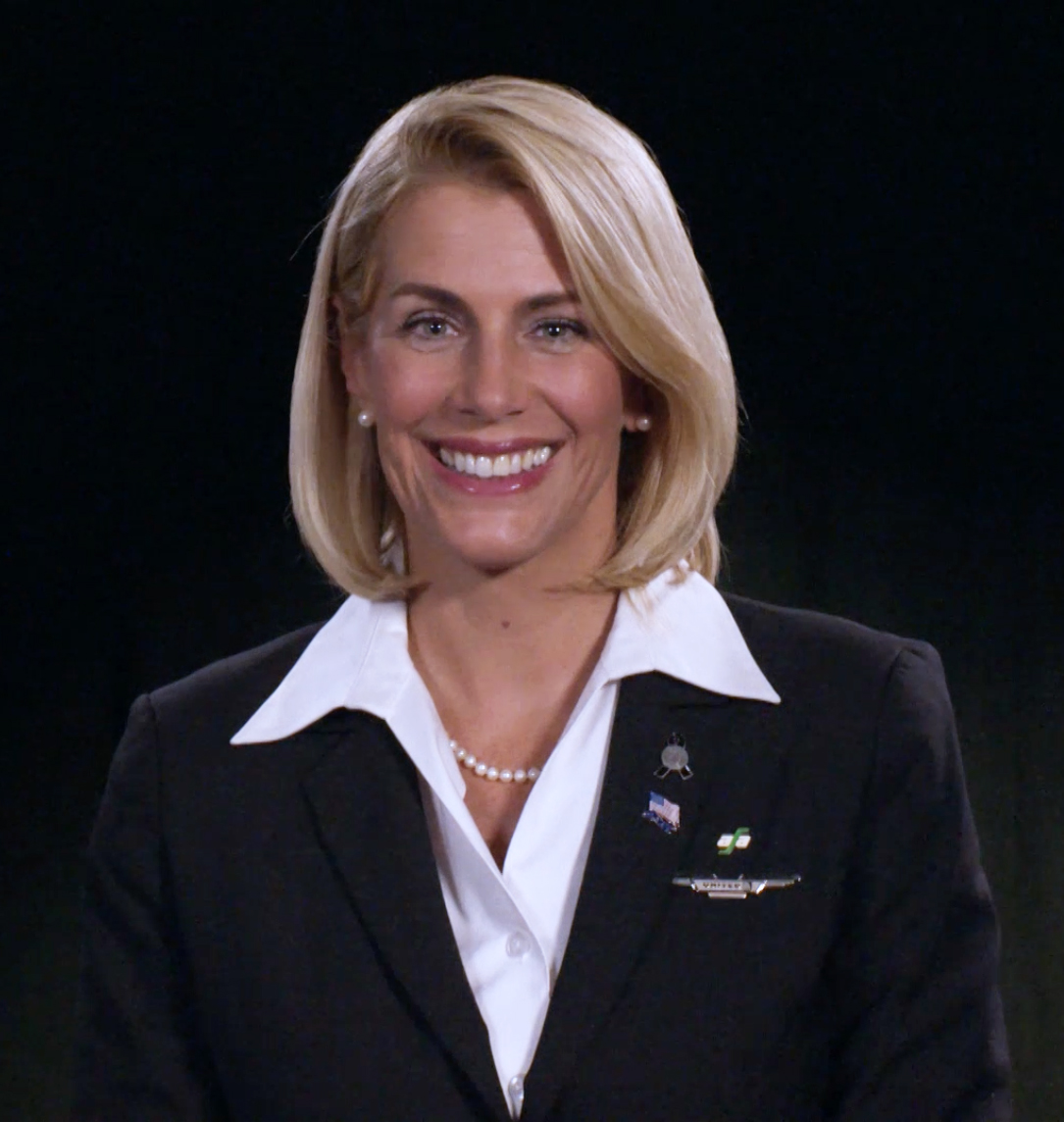Image result for Sara Nelson, the International President of the Association of Flight Attendants