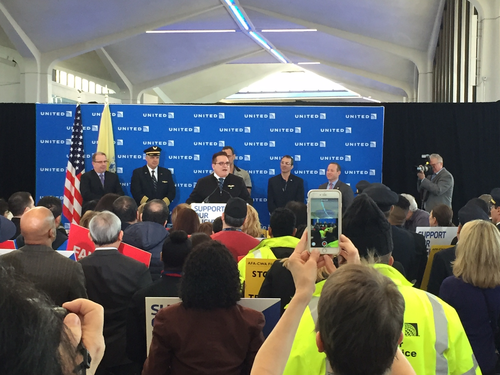 AFA Rallies at EWR for U S  Aviation Jobs - Association of