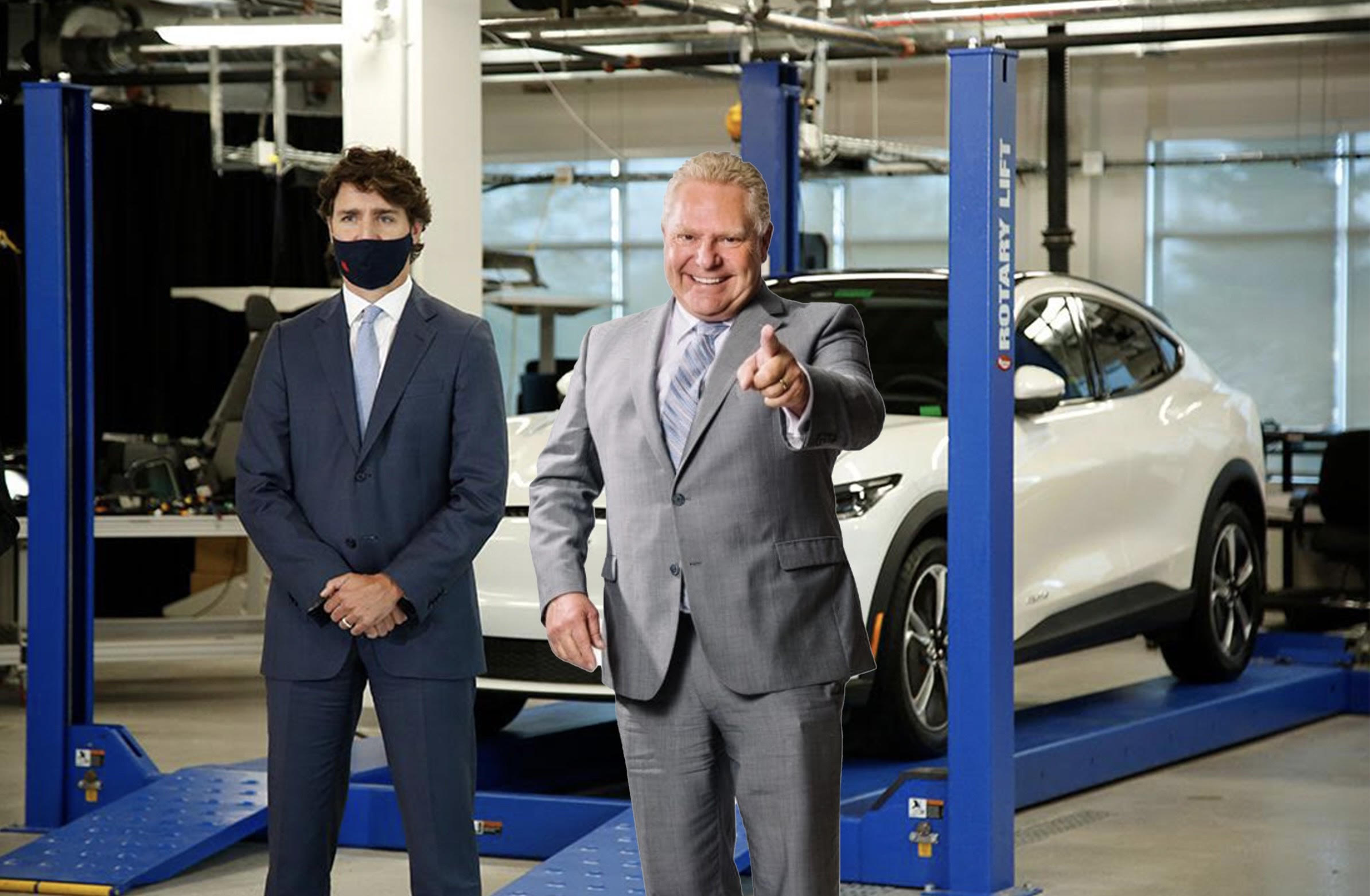 The Doug Ford Electric Auto Company?
