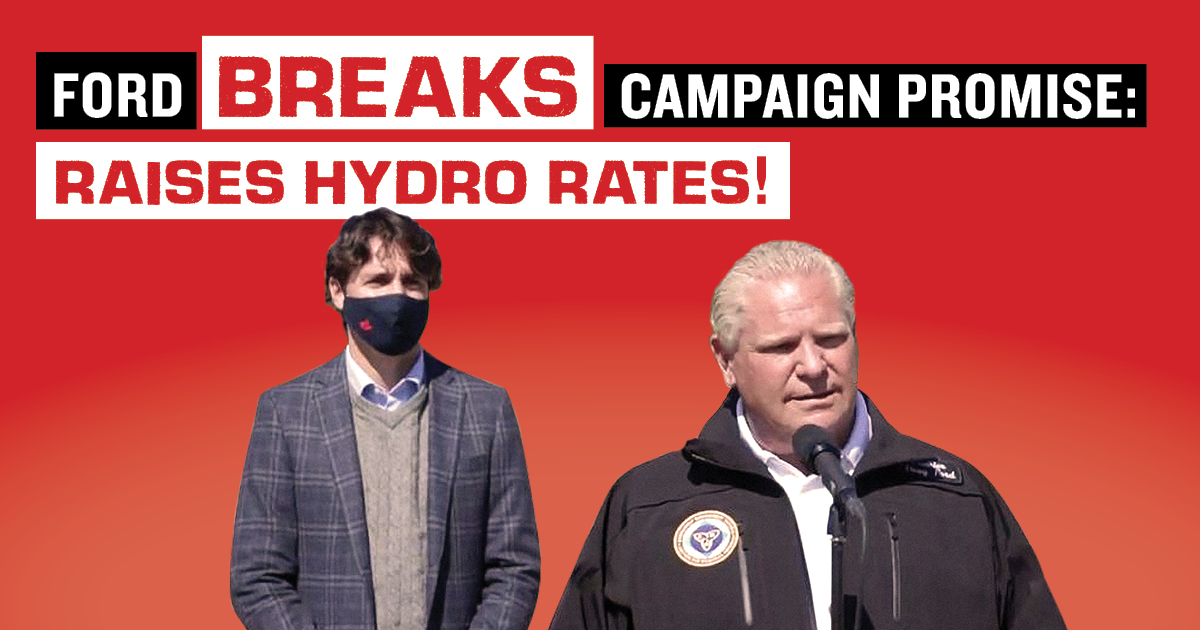 Doug – Broken Promise – Ford lets electricity prices rise
