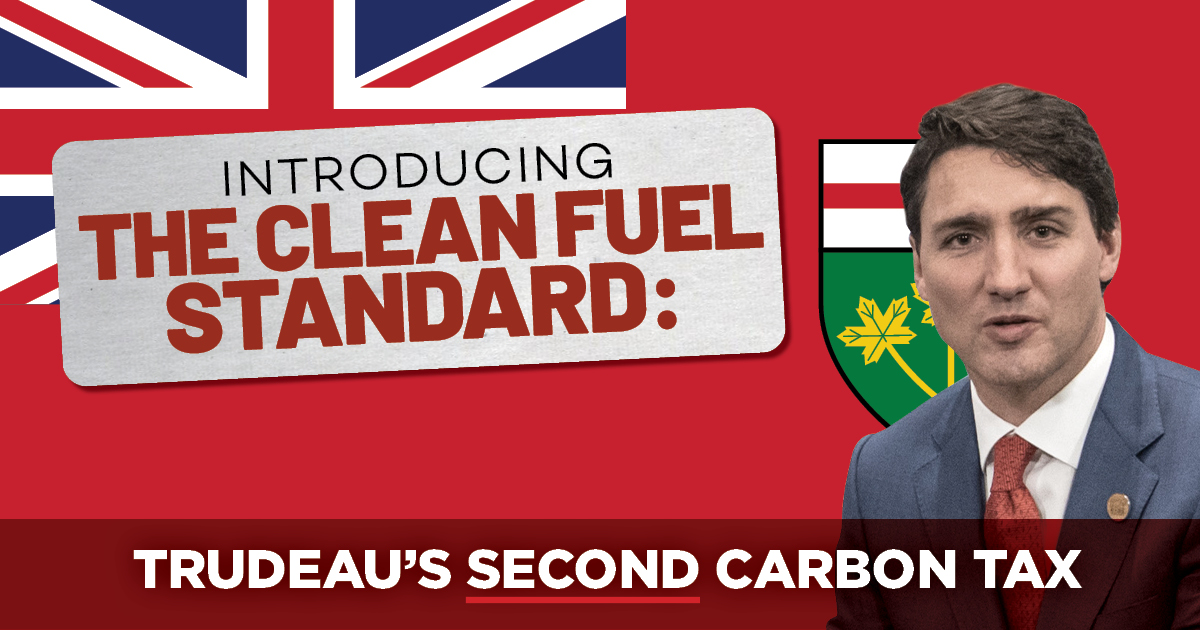 Next on the Clean Fuel Standard hit list: Ontario