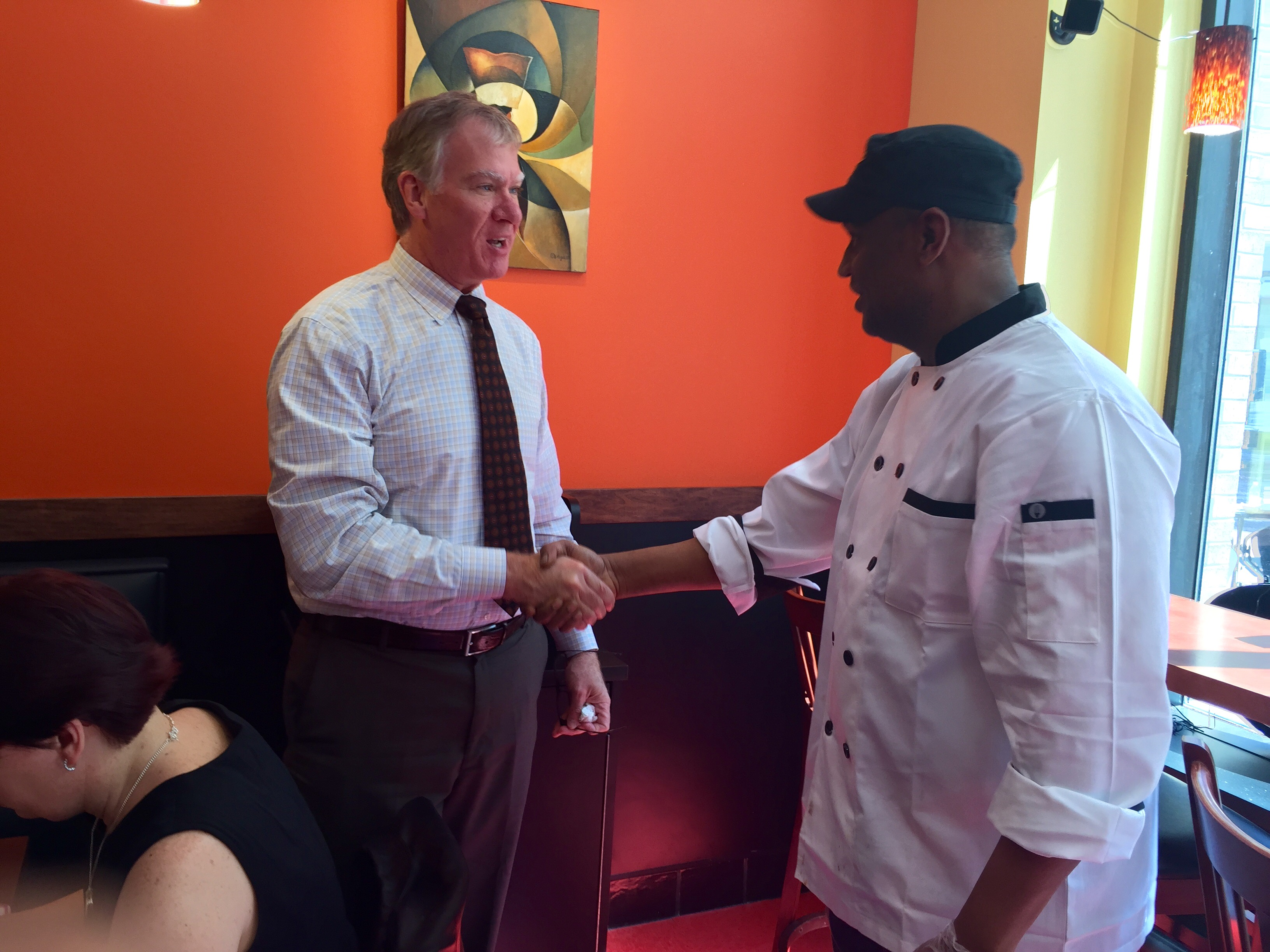 Afro Deli: Visit From Our New Mayor