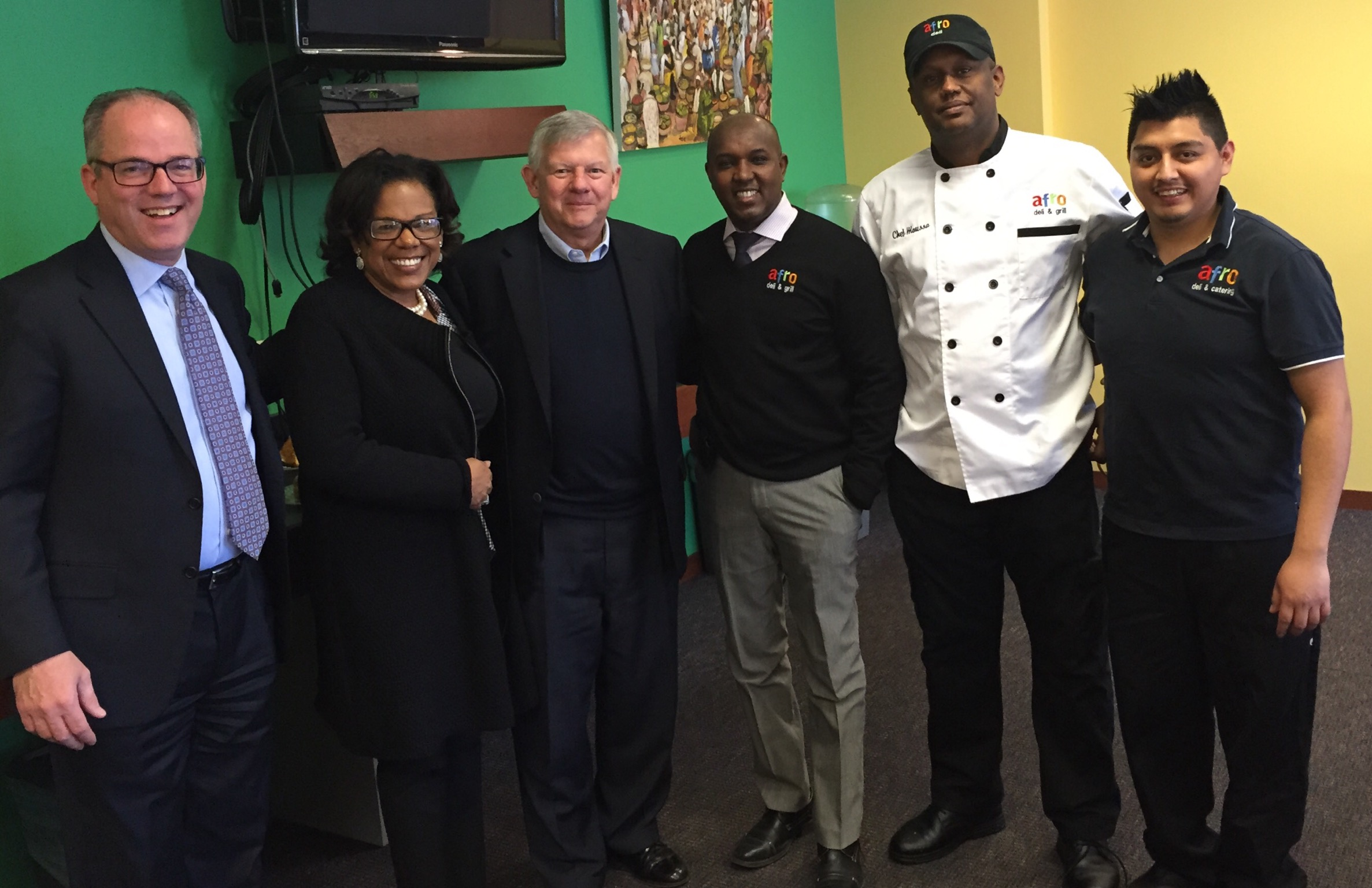 Afro Deli and the Hudson Group