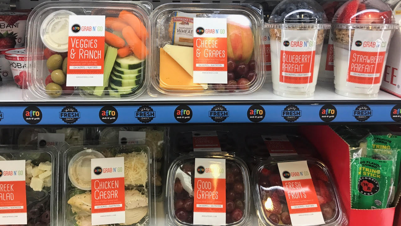 Afro Deli Grab-n-Go Products