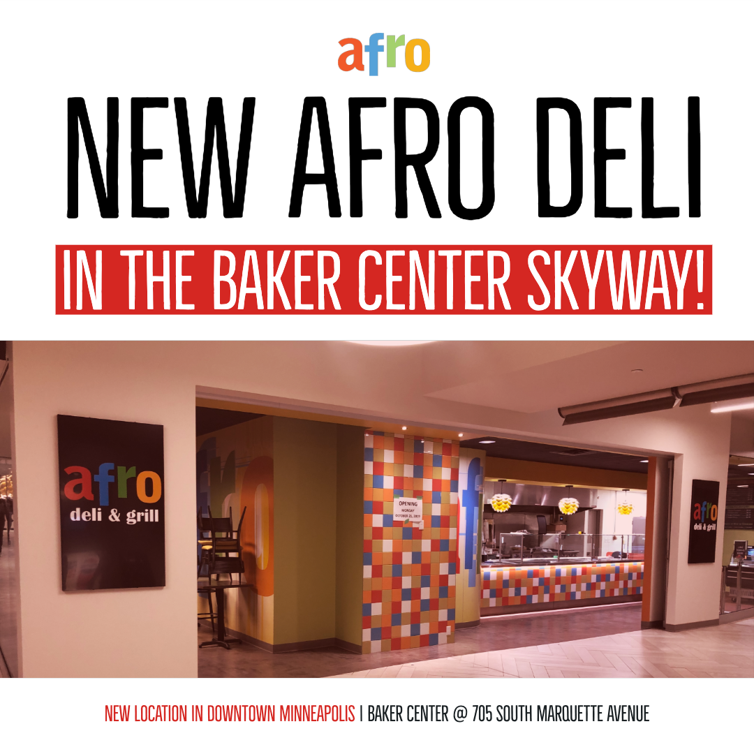 Afro Deli Express Opening February 28th