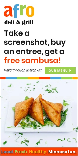 Free Sambusa with Entree Promotion