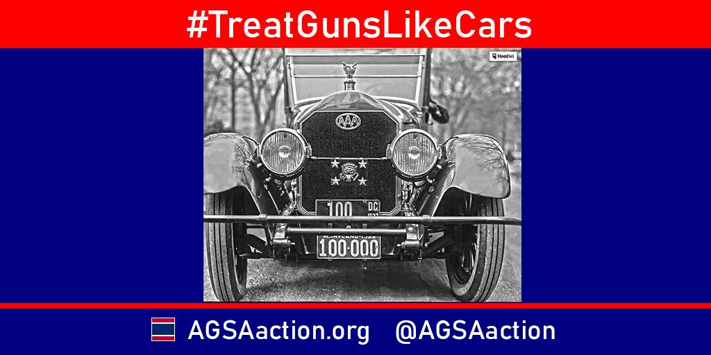 #TreatGunsLikeCars