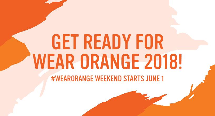 #WearOrange
