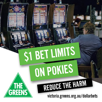 $1 Bet Limits - Reduce the Harm