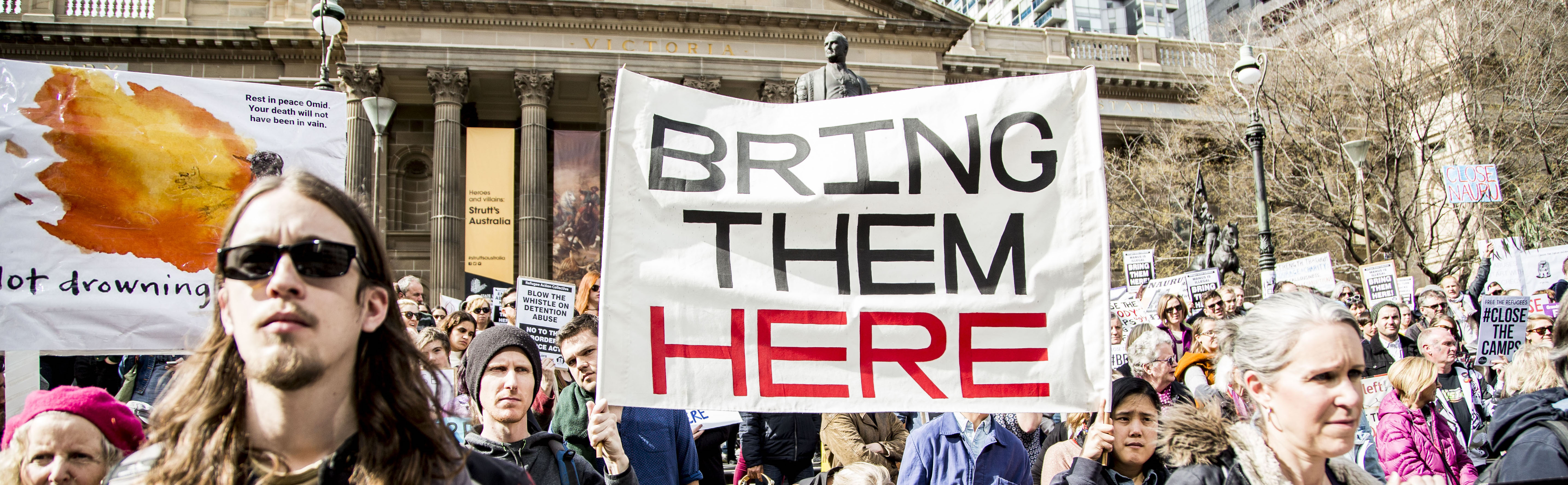 #BringThemHere. To Melbourne.