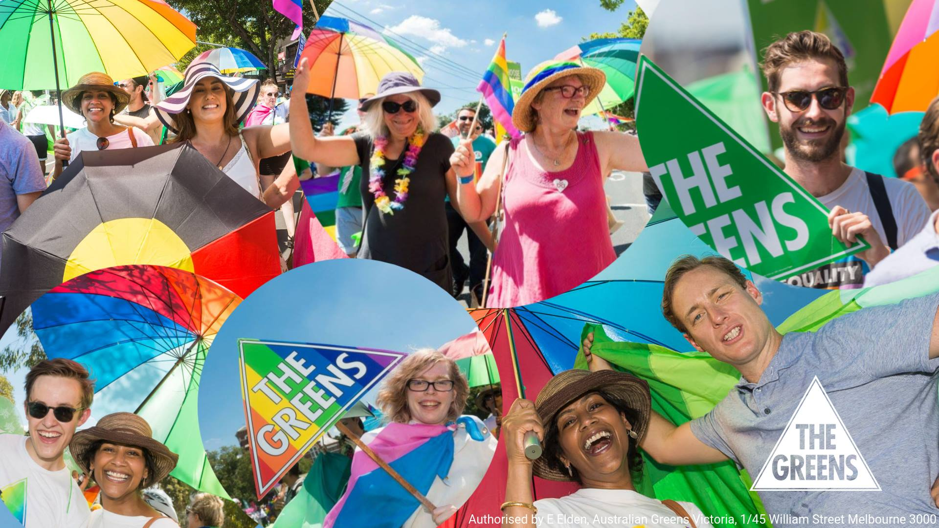 Pride March with the Greens