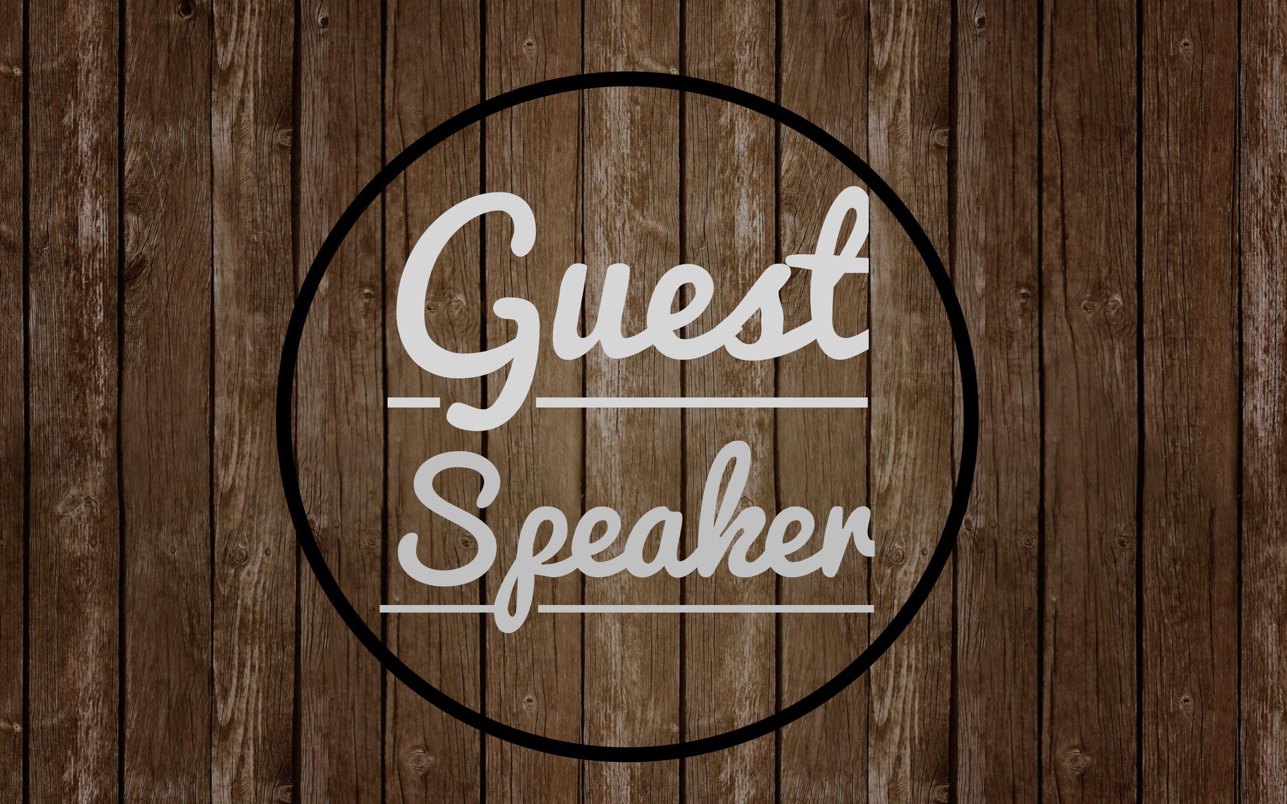 Whitehorse Branch Speaker Night