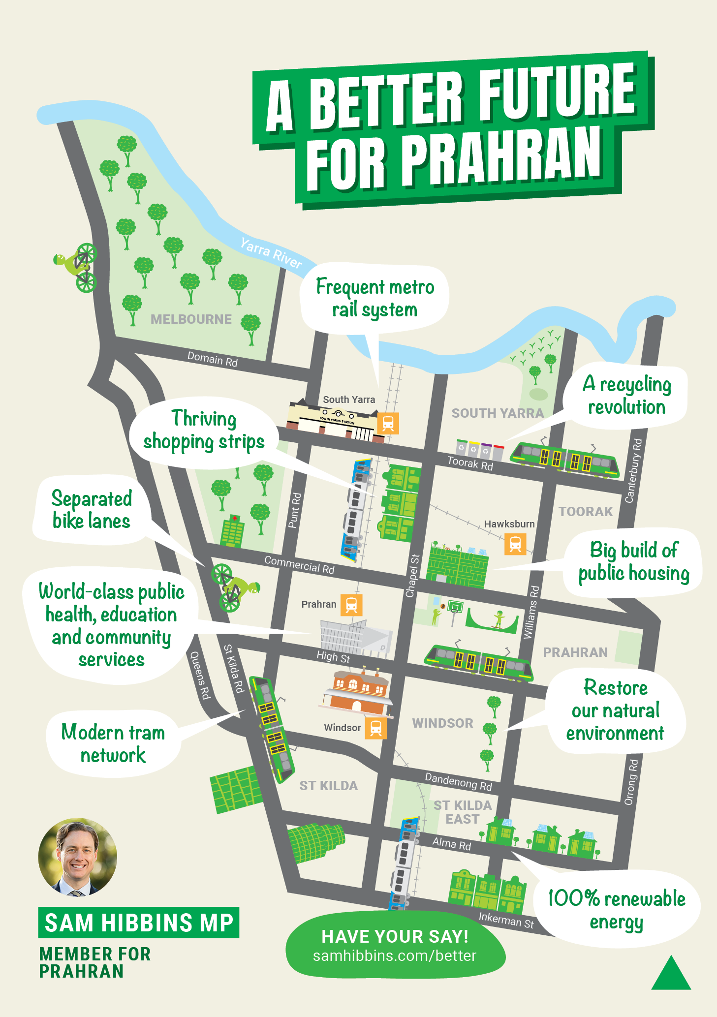 A better future for Prahran