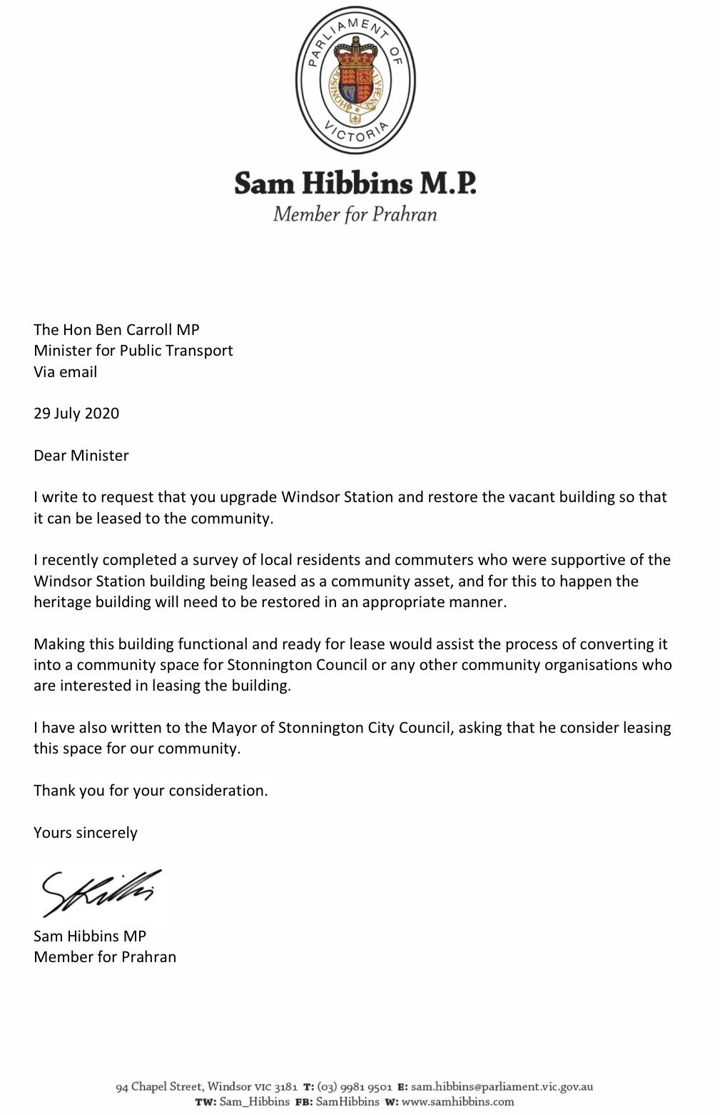 Letter to Minister for Public Transport.jpeg