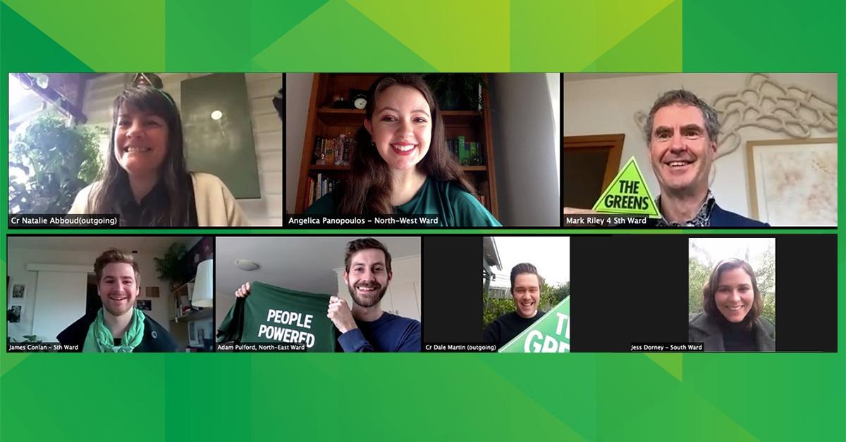 Moreland Greens Councillors
