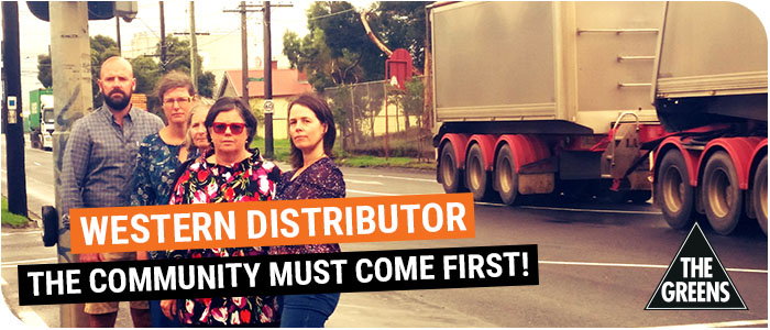 Western Distributor - the community must come first!