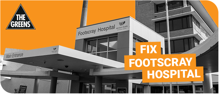 Footscray Hospital is Falling Apart