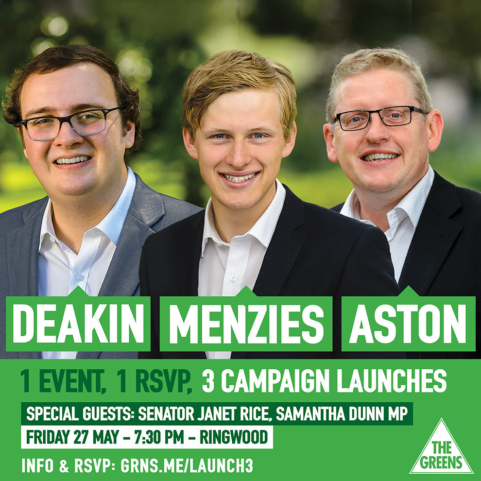 Deakin Menzies Aston Launch