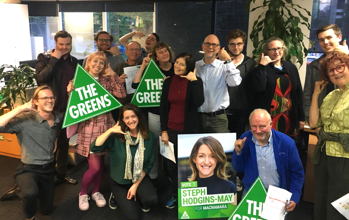 Volunteer @ Greens HQ