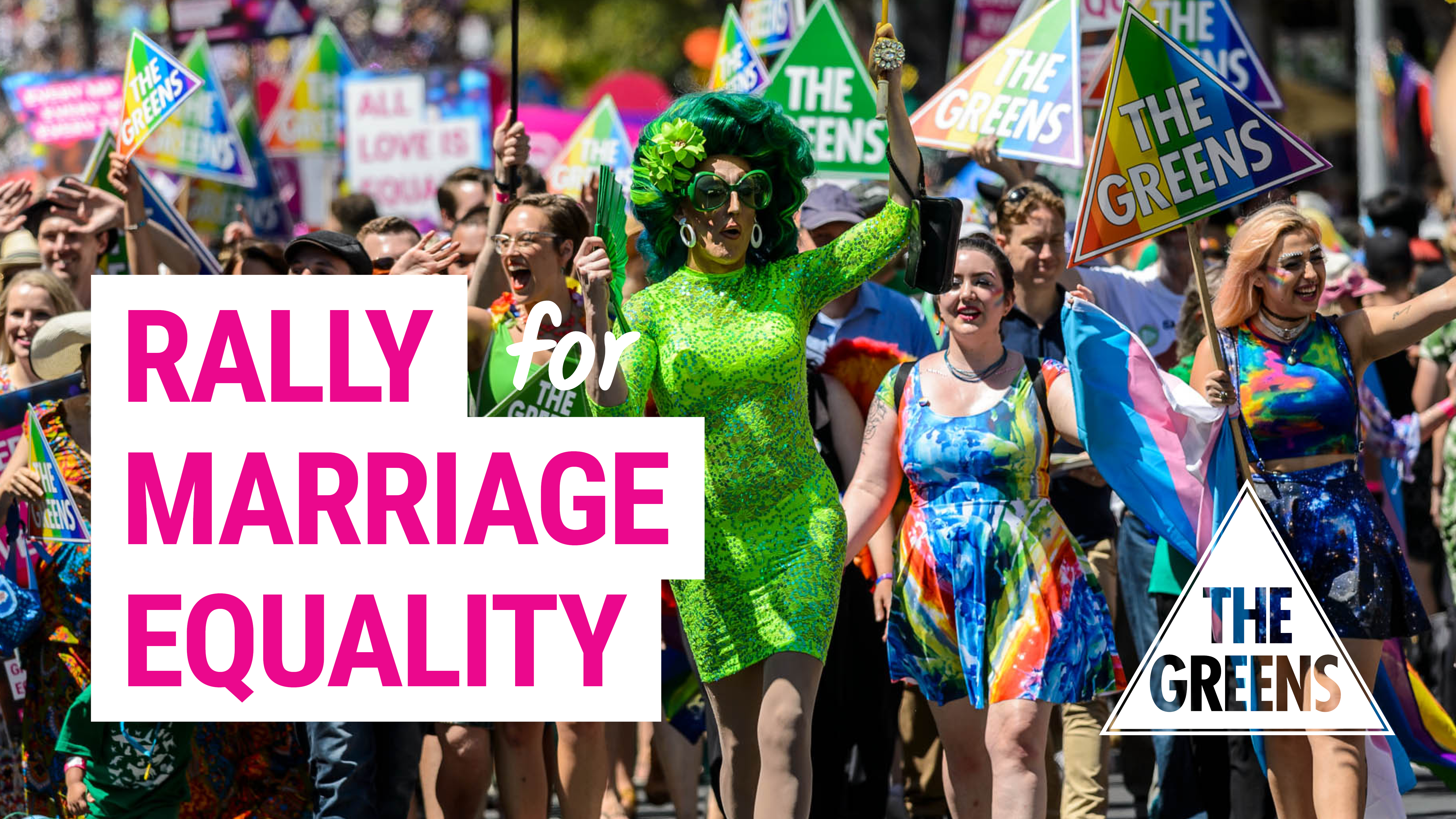 Rally for marriage equality image