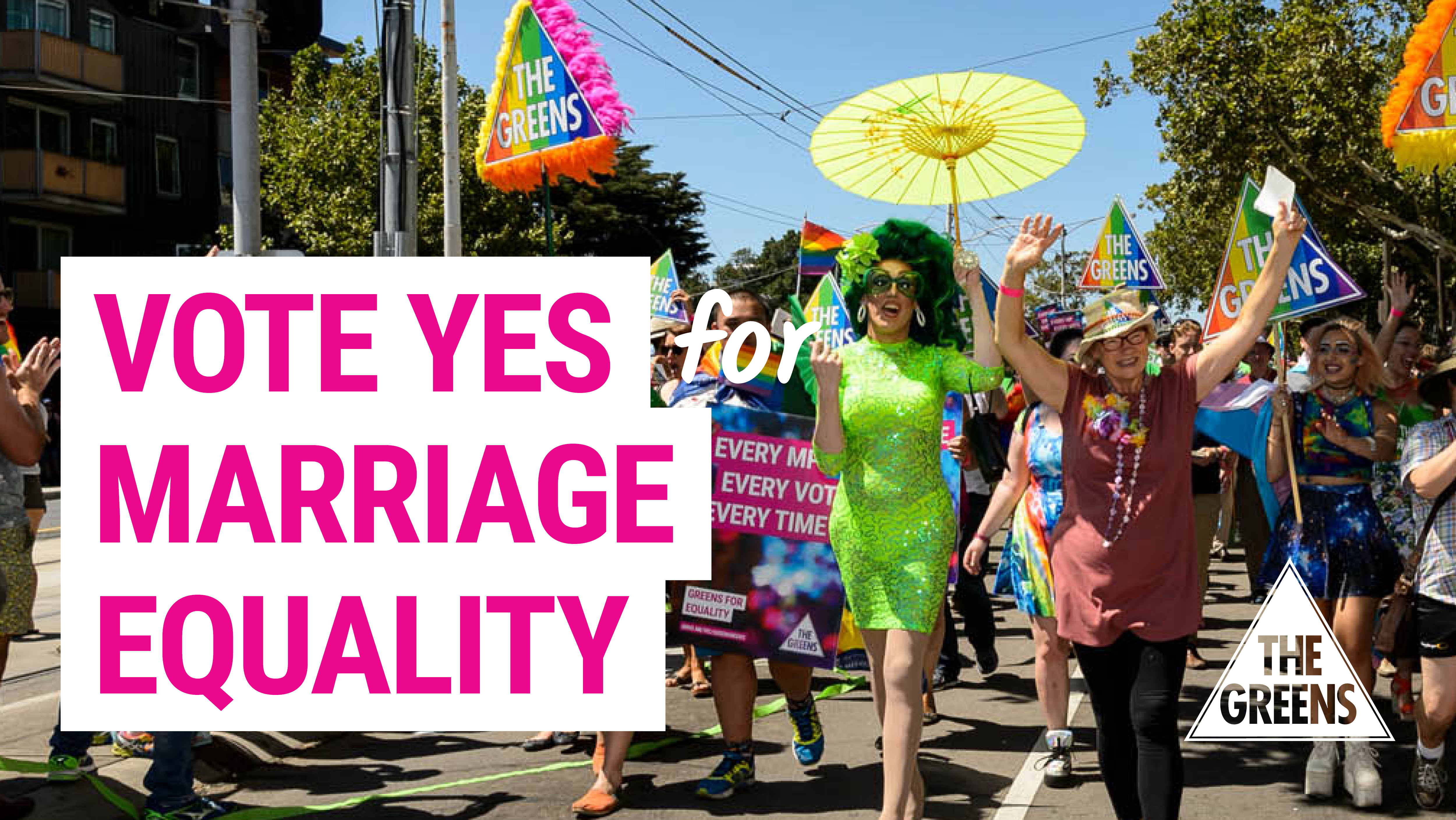 Image: vote yes for marriage equality