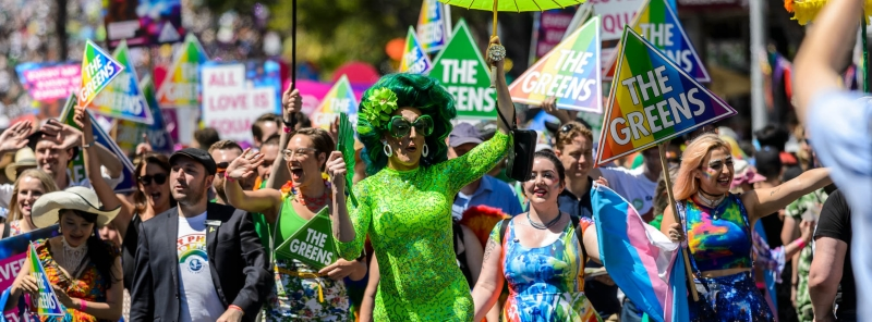 Greens at Pride