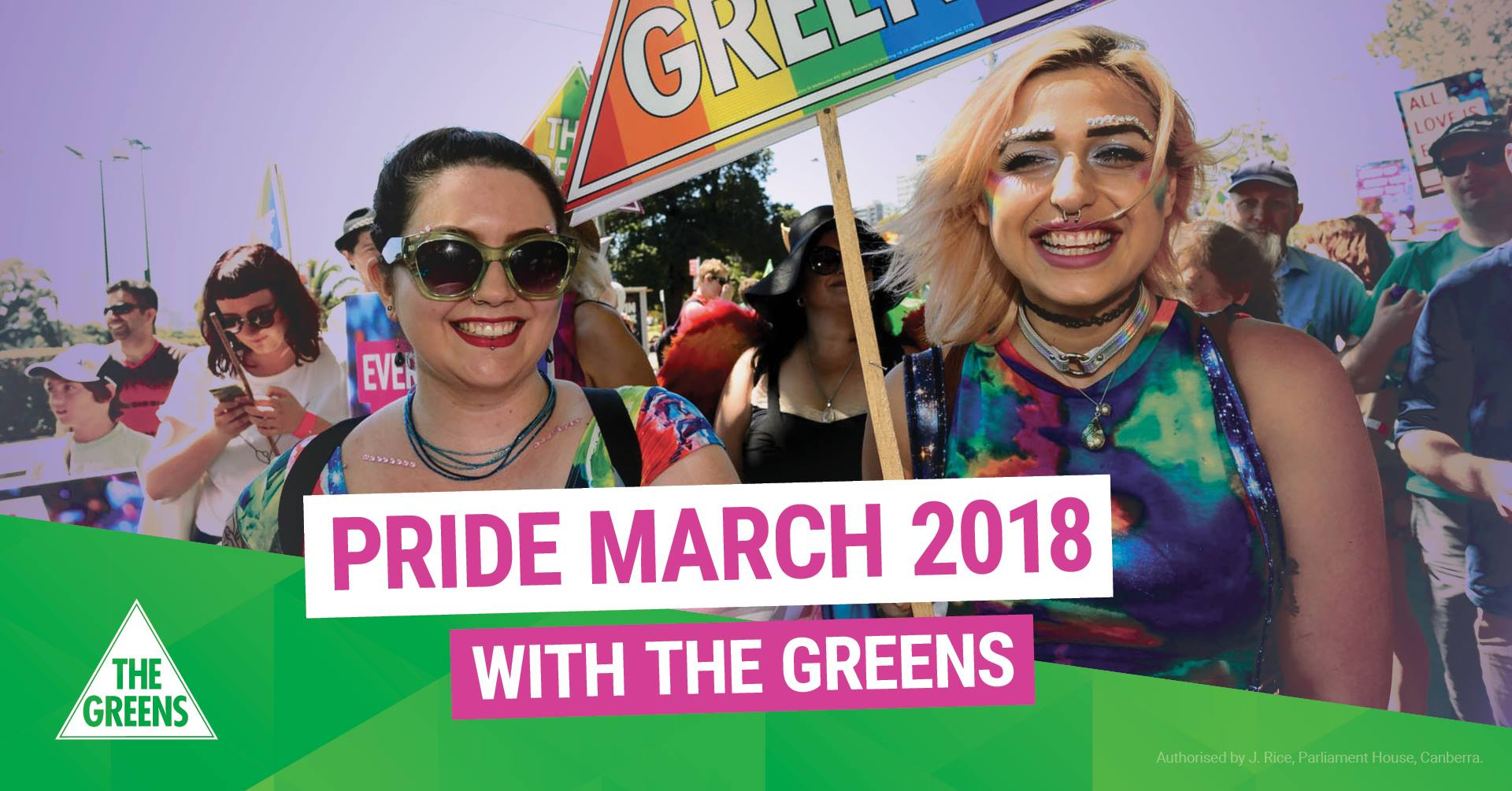 Image: Queer Greens at Pride 2017