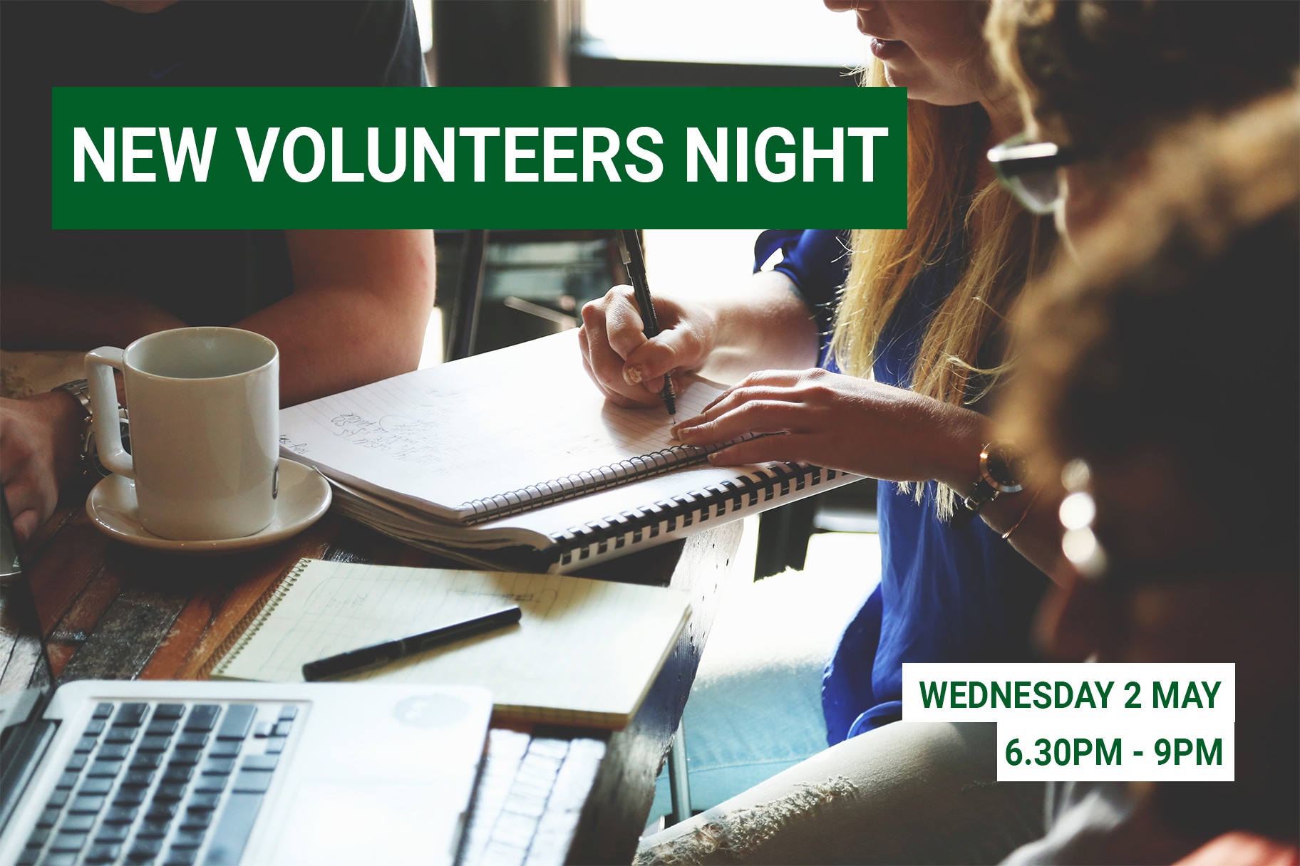 New Volunteer Night
