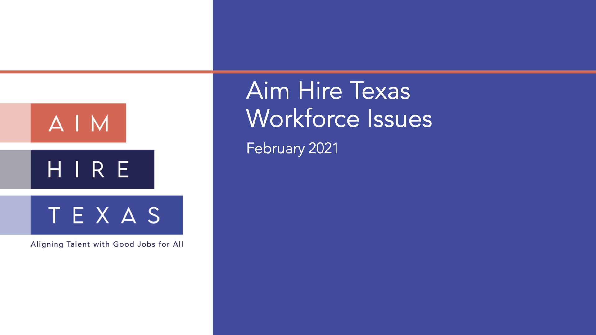 Aim Hire Texas Findings