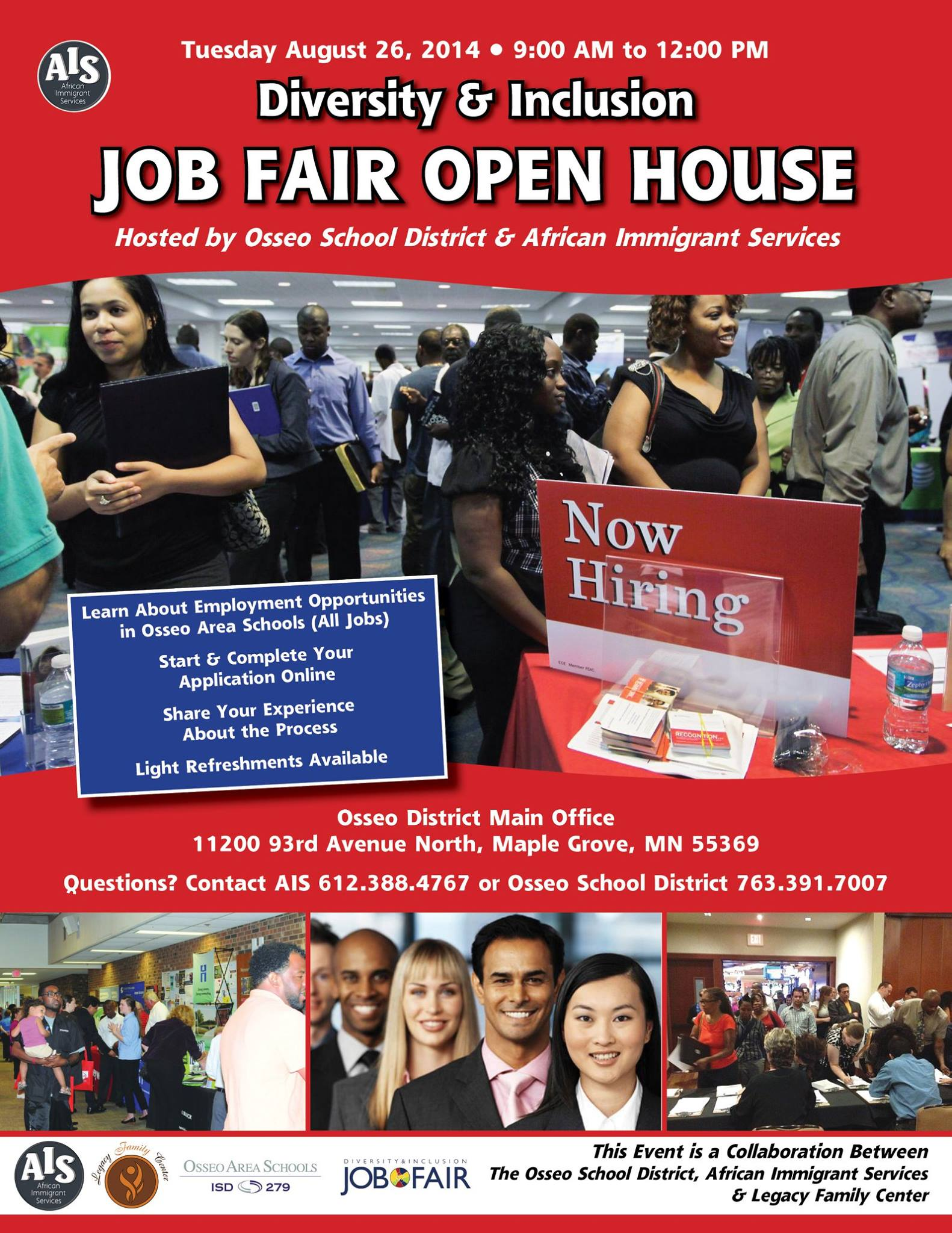 Diversity & Inclusion Job Day Open House