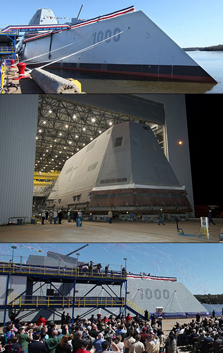 7 Billion stealth destroyer
