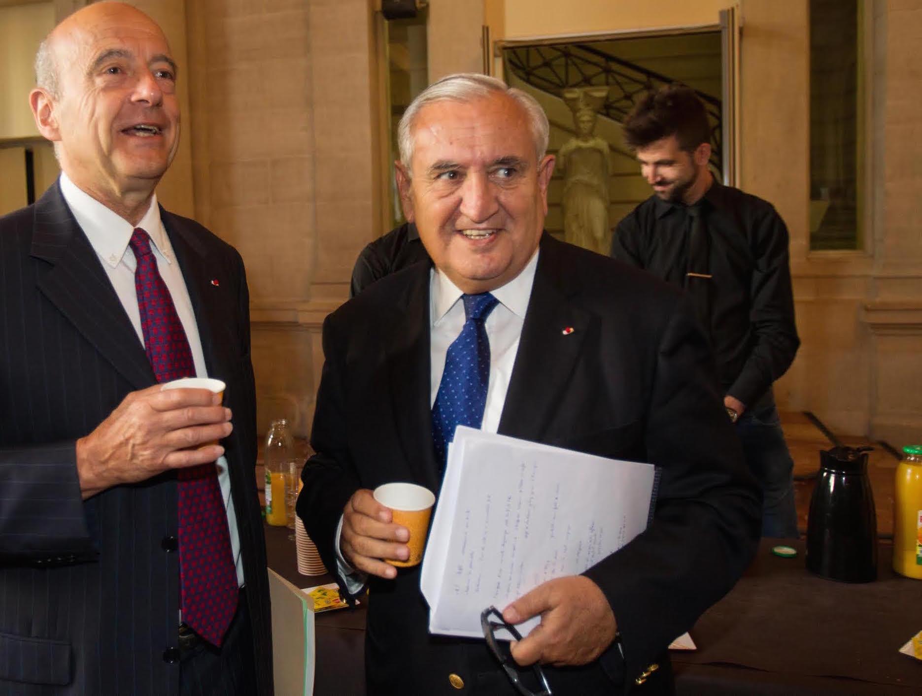 Les élus avec Alain Juppé