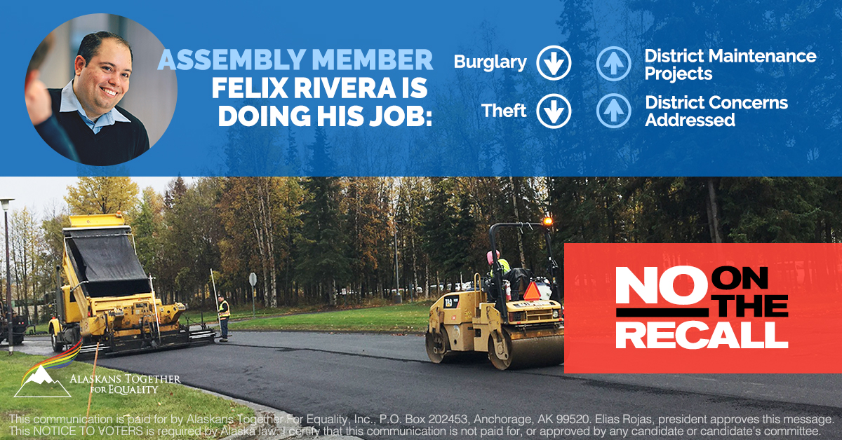 No On the Felix Rivera Recall