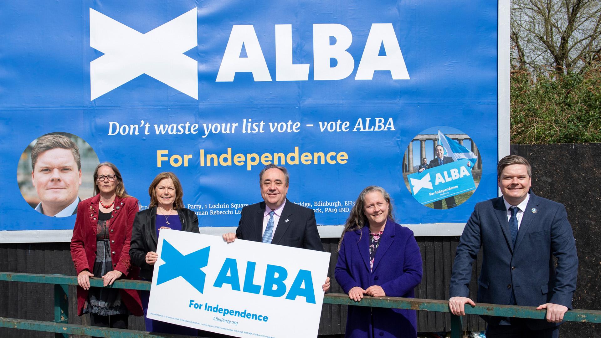 ALBA Leader Alex Salmond unveils five point plan to reduce poverty in Scotland
