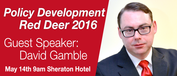 AGM 2016 with David Gamble