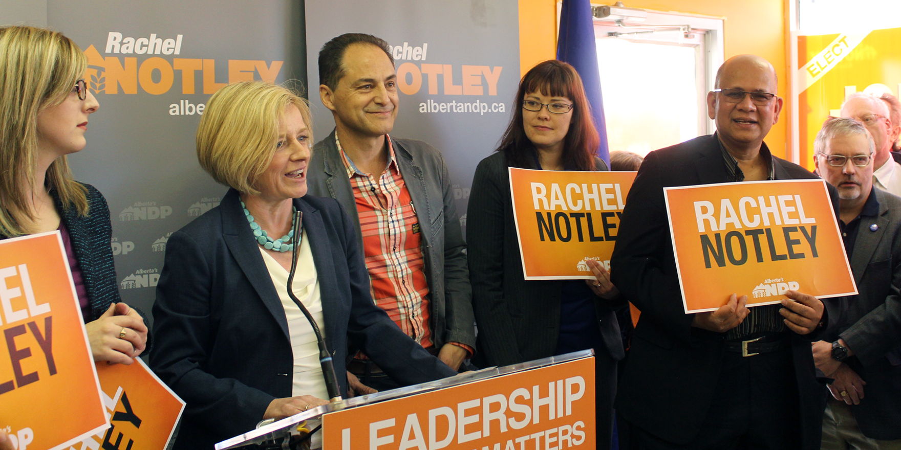 NDP Momentum Continues to Grow in Calgary: Notley