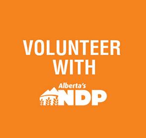Volunteer with NDP