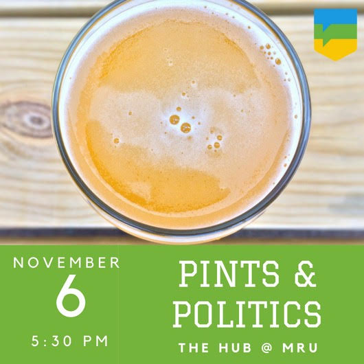 Pints and Politics Omar Masood MRU