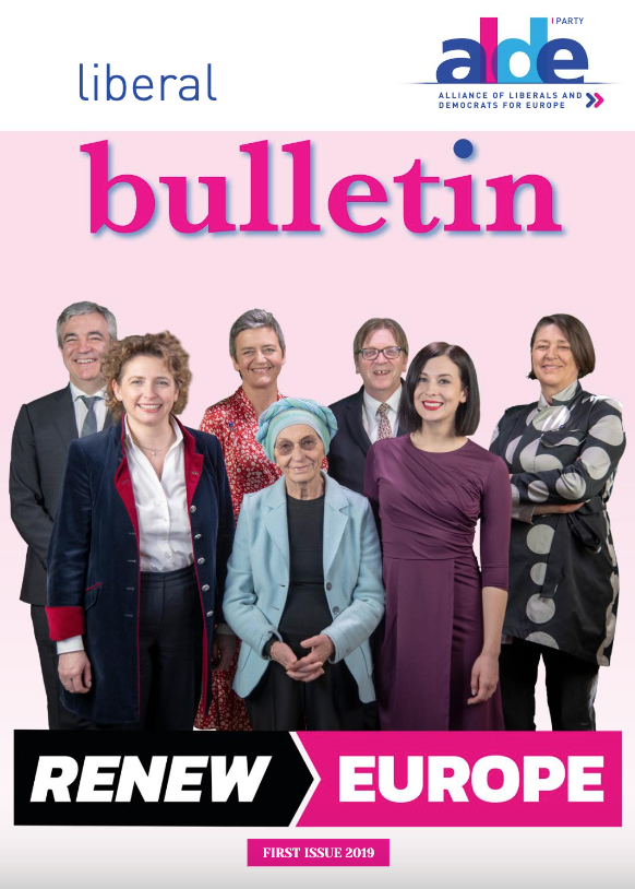ALDE Party Liberal Bulletin 01 2019