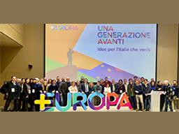 Più Europa hosts national convention