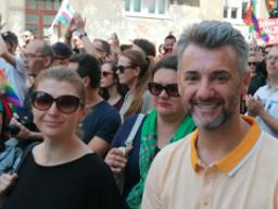 First-ever Pride March in Sarajevo