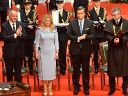 Slovakia's first female president takes office