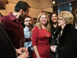 Zuzana Čaputová wins the 1st round of election